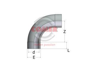ABE33 – Curva a 90° - COMER S.p.A.