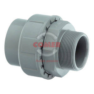 AUS84-300x300 AUS84 - Union with O-ring female plain/male threaded