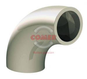 BEC – Short spigot 90° bend PPH - COMER S.p.A.