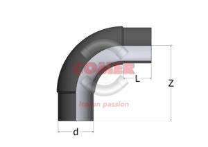 BEL-1-1-300x212 BEL - Gomito a 90° Codolo lungo