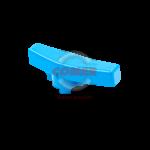 BIH - Maniglia ergonomica per valvola a sfera serie acqua manuale blu COMER SPA - COMER S.p.A.