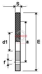 BRO – Flangia libera Polipropilene caricato vetro con inserto in metallo per collari PE100 - COMER S.p.A.