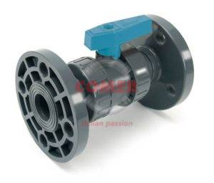 BVD19 – Double union ball valve with flanged ends - COMER S.p.A.