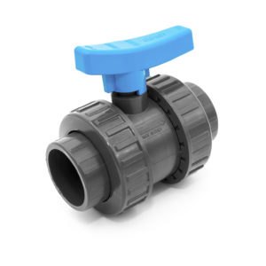 BVD40 – Double union ball valve with adjustable seat and female plain ends - COMER S.p.A.