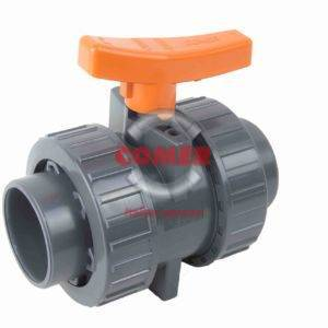 U-PVC industrial ball valve COMER S.p.A made in Italy - COMER S.p.A.