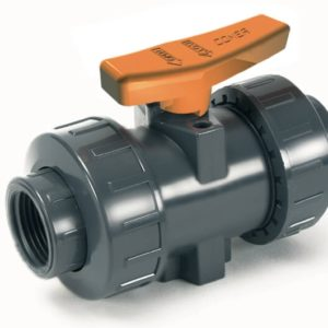 BVI11 – Industry ball valve with female threaded ends - COMER S.p.A.
