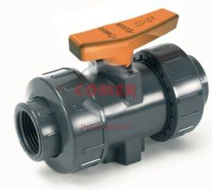 BVI31 – Industry ball valve with female threaded ends (VITON®) - COMER S.p.A.