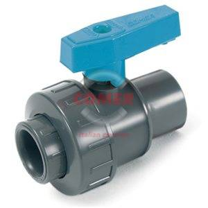 BVS10 – Single union ball valve with female plain ends - COMER S.p.A.