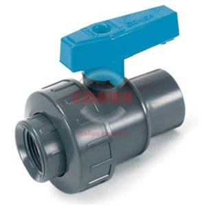 BVS11 – Single union ball valve with female threaded ends - COMER S.p.A.
