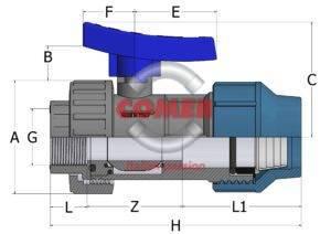 BVS19 spaccato new handle COMER SpA - COMER S.p.A.
