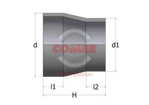 RPC – Short spigot reduction PN6 - COMER S.p.A.