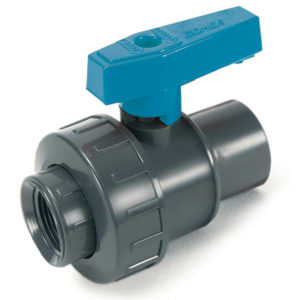 BVS43 – Single union ball valve with adjustable seat and female plain ends BS - COMER S.p.A.