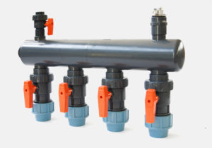 BVI-EL – Electric actuated U-PVC ball valve - COMER S.p.A.