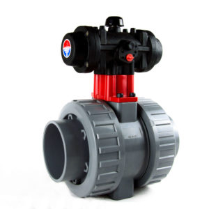 ABVI-PN – Pneumatic actuated ABS BS ball valve - COMER S.p.A.