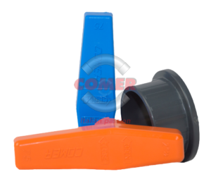 ABVI13 – Industry ball valve with female plain ends BS - COMER S.p.A.