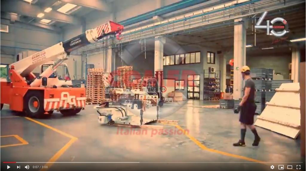 Time lapse installazione nuova pressa ad iniezione - COMER S.p.A.