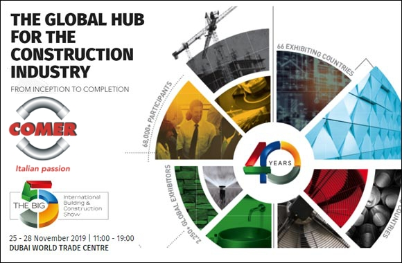 the-big-5-dubai-2019-the-global-hub-for-the-construction-industry-comer-spa-event COMER S.p.A. at The Big 5 Dubai 2019 News Events