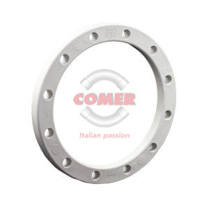 BRO/ST Glass reinforced PP loose flange with metal insert for PVC stub - COMER S.p.A.