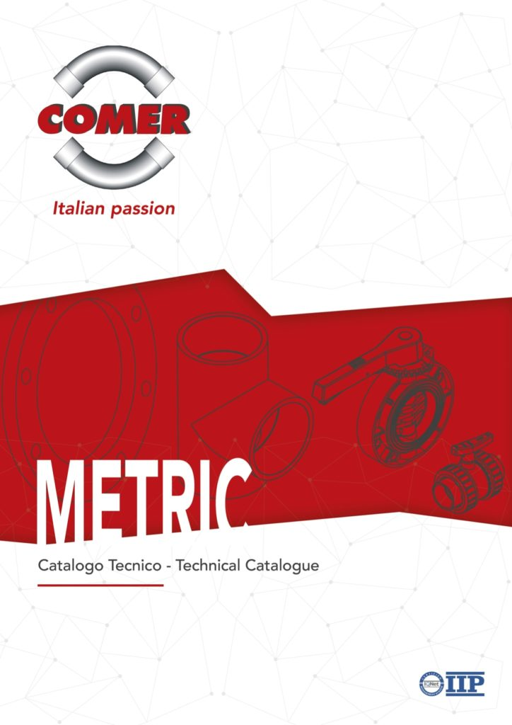 copertina technical catalogue 2020 COMER S.p.A. - COMER S.p.A.