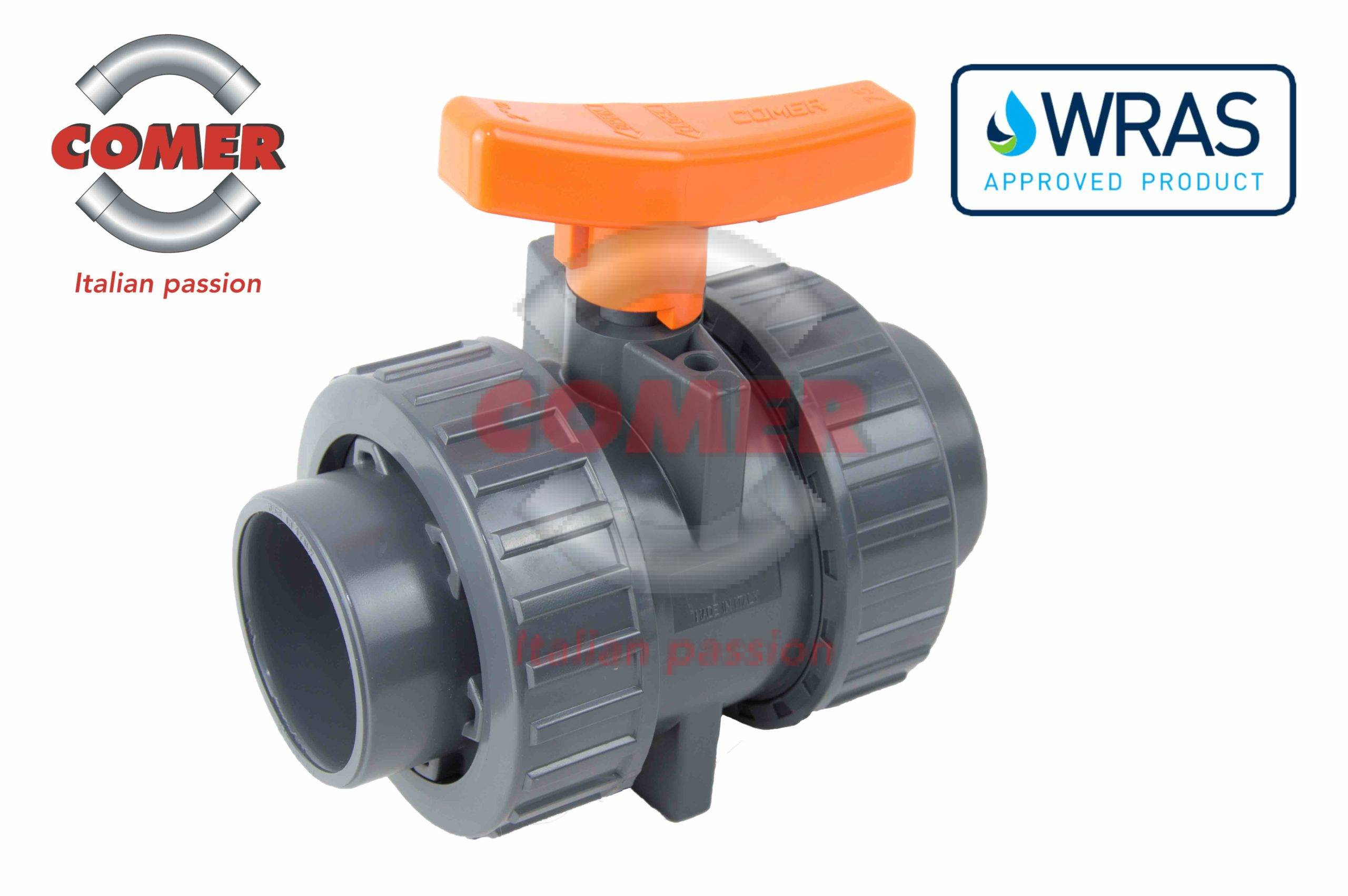 WRAS product approval industrial ball valve COMER S.p.A. - COMER S.p.A.