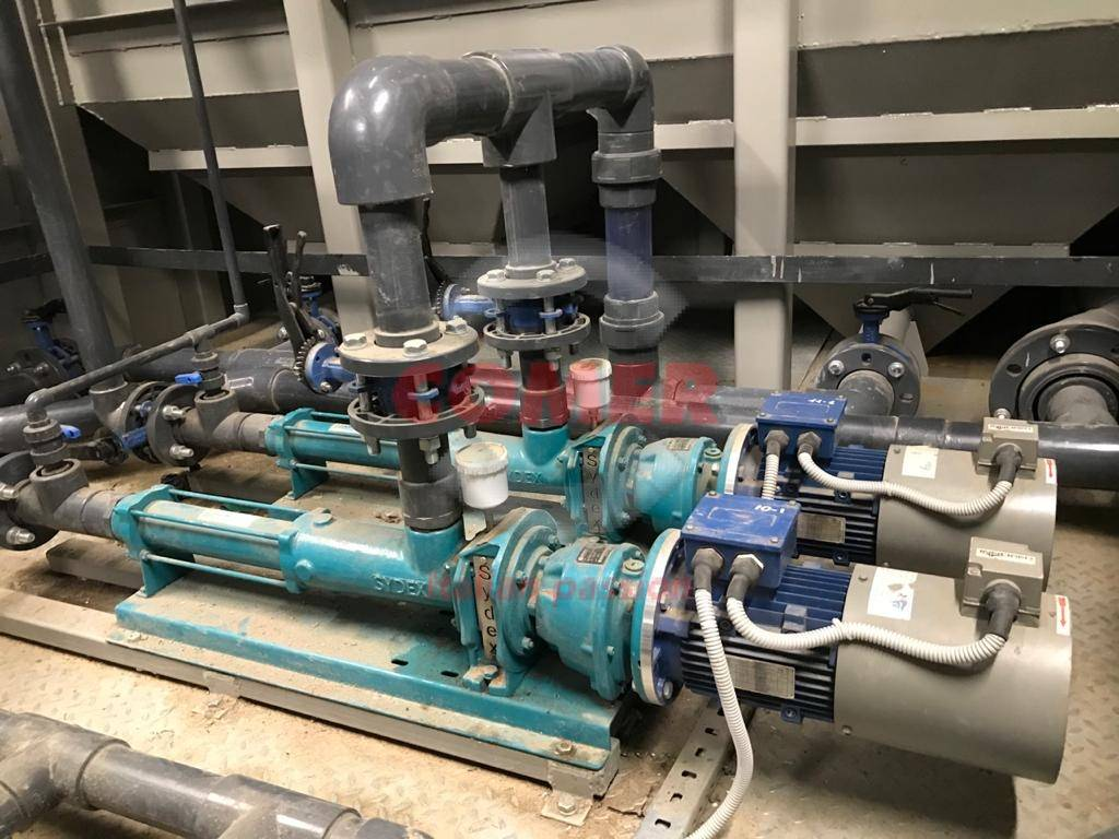 water treatment plant COMER S.p.A. fittings and valves - COMER S.p.A.