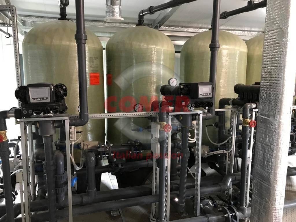 Impianto di trattamento acqua nella Regione di Leningrado - COMER S.p.A.