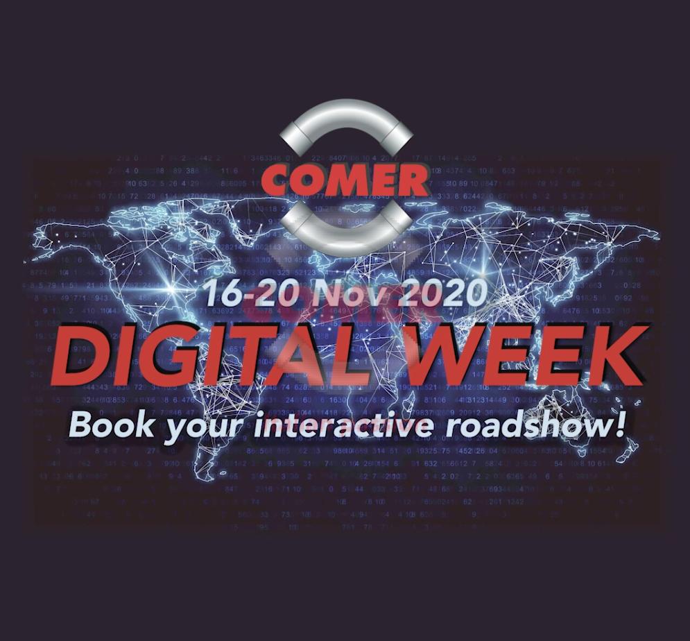 COMER S.p.A. Digital Week 2020 - COMER S.p.A.