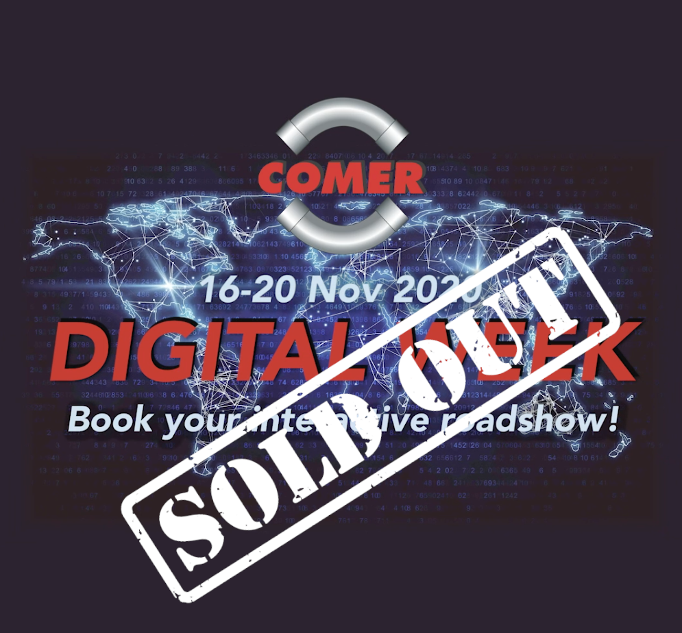 The COMER S.p.A. Digital Week is sold out