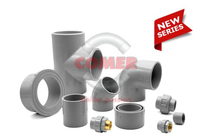 C-PVC-series-groupage-ottone New C-PVC fittings made in Italy News Press release