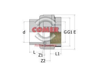 C-UN72-300x212 C-UN72 - Bocchettone  con O-ring incollaggio femmina/inserto in ottone filettato femmina in C-PVC