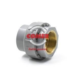 DSC07135-300x300 C-UN72 - Bocchettone  con O-ring incollaggio femmina/inserto in ottone filettato femmina in C-PVC