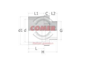 C-AD12-spaccato-300x300-1 C-AD12 - Adattatore con filettatura maschio in C-PVC
