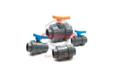 British Standard U-PVC valves - COMER S.p.A.