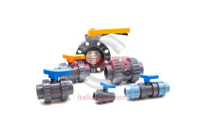U-PVC valves COMER S.p.A. made in Italy - COMER S.p.A.