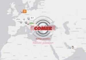 COMER S.p.A. live-in-person events 2021-2022